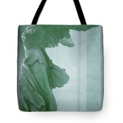 Winged Victory Of Samothrace Statue At The Louvre Museum        Tote Bag