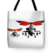 Wingin' It - Orange Tote Bag