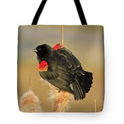Wings In A Golden Light 2 Tote Bag