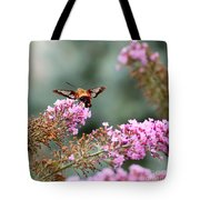 Wings In The Flowers Tote Bag