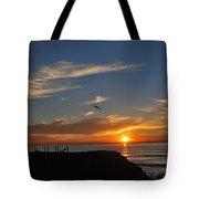 Wings Of A Bird Tote Bag