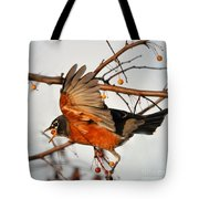 Wings Of A Robin Tote Bag