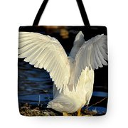 Wings Of A White Duck Tote Bag