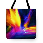 Wings Of Color Abstract  Tote Bag