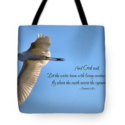 Wings Of Faith Tote Bag