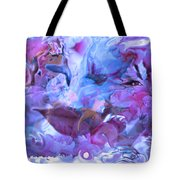 Wings Of Joy Tote Bag