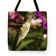 Wings Out Of The Way Tote Bag