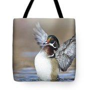 Wings Up Shoot Tote Bag