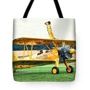 Wingwalking Tote Bag