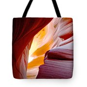 Wink In Lower Antelope Canyon In Page-arizona Tote Bag