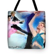 Winning The Gold For The Usa Tote Bag