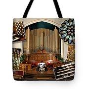 Winnipeg Church Montage Tote Bag