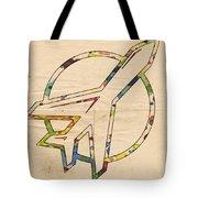 Winnipeg Jets Retro Logo Tote Bag by Florian Rodarte