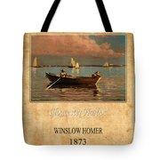 Winslow Homer 1 Tote Bag