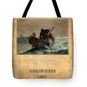Winslow Homer 2 Tote Bag