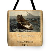 Winslow Homer 4 Tote Bag