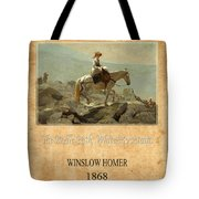 Winslow Homer 5 Tote Bag