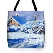 Winter Tote Bag