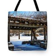 Winter Arbor Tote Bag