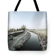 Winter At Ayshford  Tote Bag
