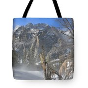 Winter At Loch Vale 3 Tote Bag