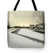 Winter At The Basin  Tote Bag