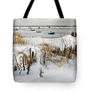 Winter At The Beach 2 Tote Bag