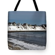 Winter At The Coast Tote Bag