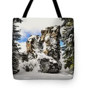 Winter At The Stony Summit Tote Bag