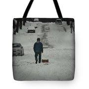 Winter Athlete Tote Bag