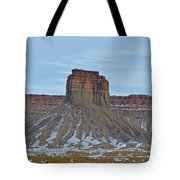 Winter Banded Butte Tote Bag