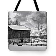Winter Barn Monochrome Tote Bag