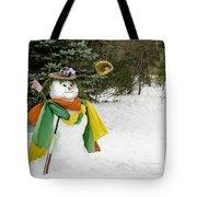 Winter Baseball Ball Gown  Tote Bag