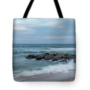 Winter Beach Day Lavallette New Jersey Tote Bag
