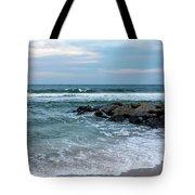 Winter Beach Lavallette New Jersey  Tote Bag