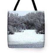 Winter Blues Tote Bag