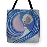 Winter Breath Tote Bag