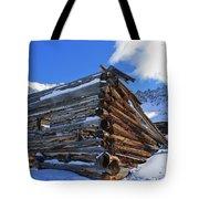 Winter Cabin Tote Bag