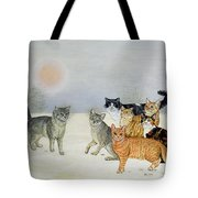 Winter Cats Tote Bag