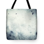 Winter Christmas Background Tote Bag