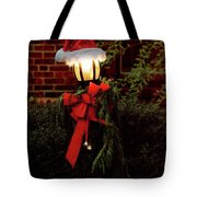 Winter - Christmas - It's Going To Be A Cold Night Tote Bag by Mike Savad