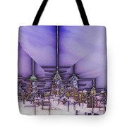 Winter City Tote Bag