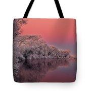 Winter Color Tote Bag