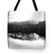 Winter Contrast Tote Bag