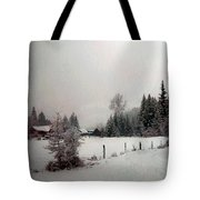 Winter Dawn Tote Bag