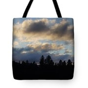 Winter Eve In The Applegate Valley Tote Bag