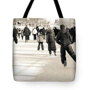 Winter Exercise Tote Bag