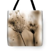 Winter Flowers II Tote Bag