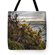 Winter Flowers Tote Bag