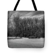 Winter Ford Truck 2 Tote Bag